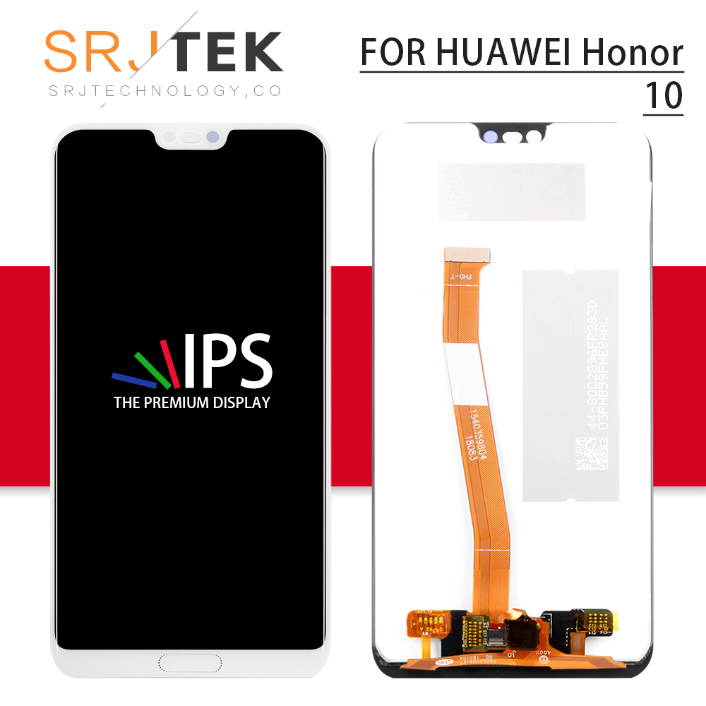 Srjtek For Huawei Honor 10 LCD Touch Screen Glass Panel Replacement For Huawei Honor 10 Display Sensor With Frame Col-L29Srjtek For Huawei Honor 10 LCD Touch Screen Glass Panel Replacement For Huawei Honor 10 Display Sensor With Frame Col-L29