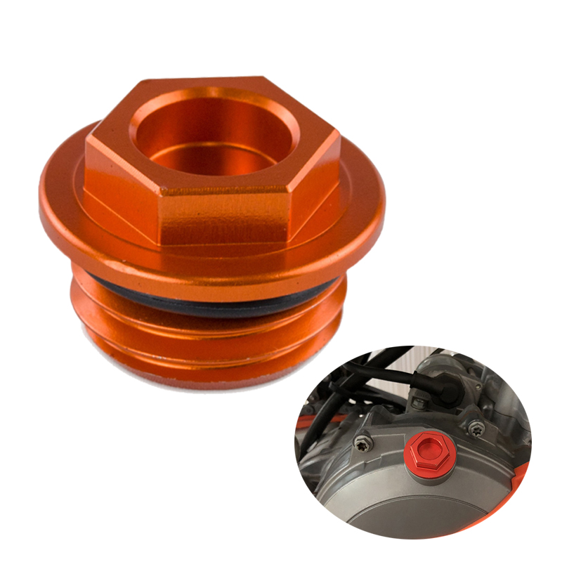 Oil Fuel Filler Cap Cover Oil Plug For KTM SX XC EXC SMR EXC SX-F EXC-F XC XC-F XC-W 85 125 200 250 300 350 400 450 500 525 530