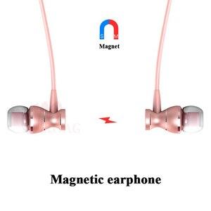 Image 3 - MEUYAG מתכת מגנטי אוזניות ספורט ריצה ב אוזן אוזניות דיבורית אוזניות אוזניות עם מיקרופון סטריאו אוזניות