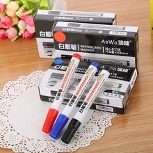 10 шт./кор. красочная белая доска ручка черная белая доска школьные маркеры принадлежности детская ручка для рисования Escola