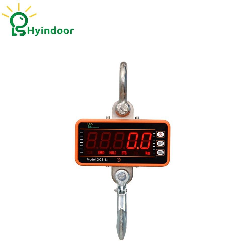 1 t Smart Type LED Haute Précision Électronique Balances Numérique Hanging Crochet Grue Échelle Avec Télécommande