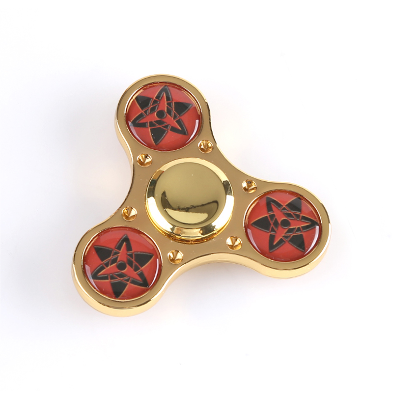 Fidget Spinner Naruto Sasuke Akatsuki Kaleidoscope Hand Spinner EDC ADHD Finger Spinner Decompression Toys And Gifts