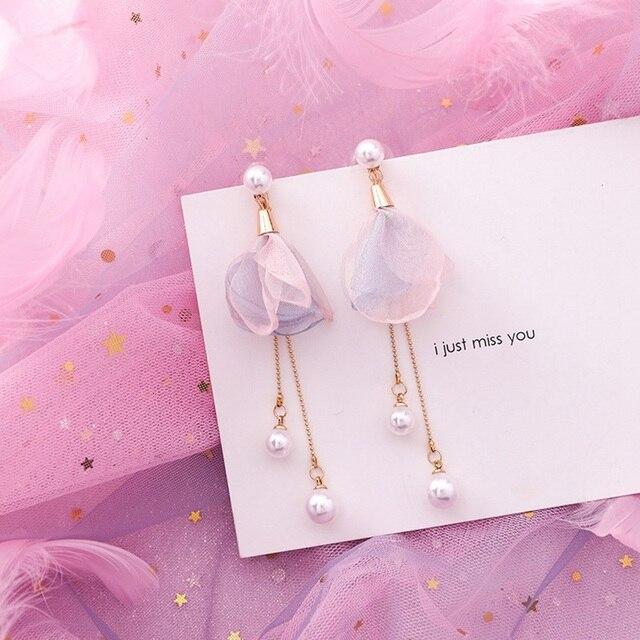 Sweet Geometric Flower Earring 5