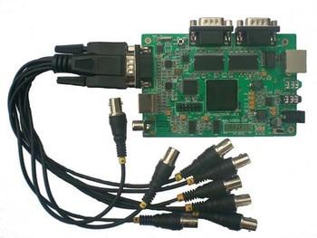 QXD-DM642QQ development board DSP TMS320DM642 CVBS gives 2DVD