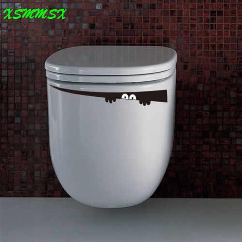 Darmowa wysyłka 3D cartoon wodoodporny samochód ścianę naklejki naklejki na toaletę do salonu łazienka dzieci naklejki ścienne do pokoju winylu pcv
