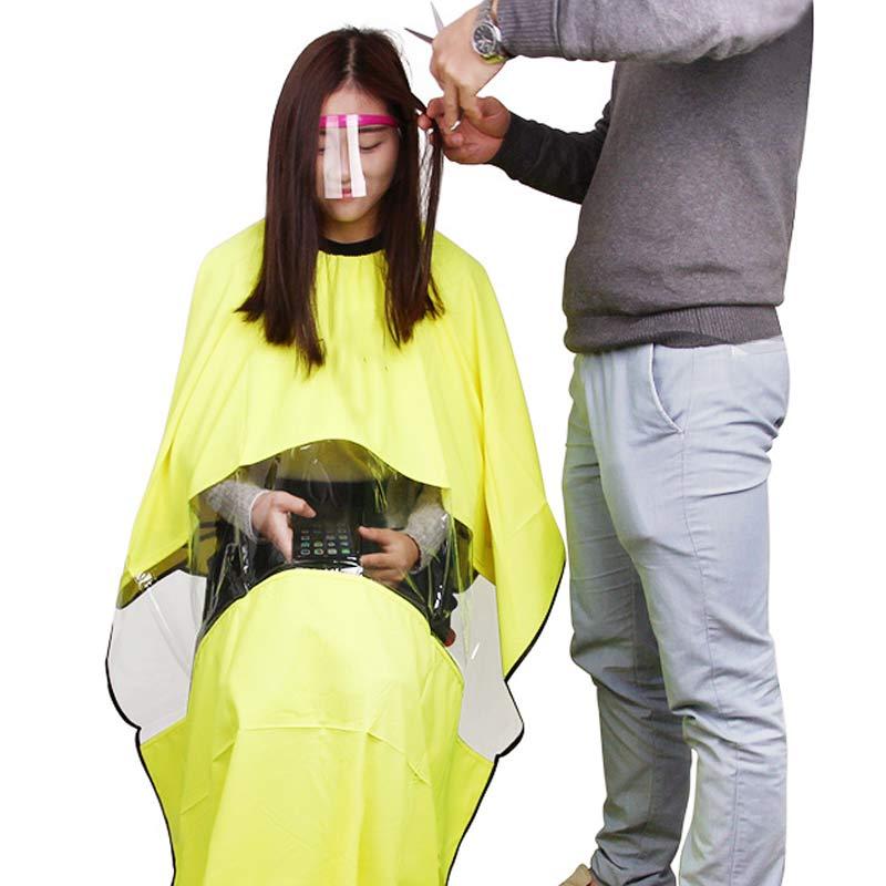 50 Teile/satz Professional Hair Eye Protector Transparent Kunststoff Friseur Abdeckung Für Kunden Haare Styling Zubehör Msi-19