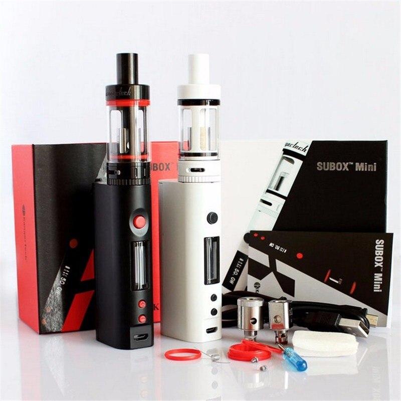 ФОТО Original kanger Subox mini starter kit Sub tank mini 4.5ml atomizer Variable Wattage KBOX Mods electronic cigarette vape