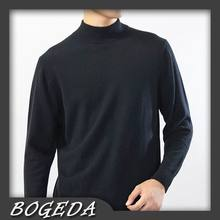 Cashmere sweater Men's pullover Turtleneck Classic Black Gray Navy Natural fabric High Quality Stock clearance Free shipping