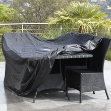 Black Waterproof Outdoor Patio Garden Furniture Covers Rain Snow Chair covers for Sofa Table Dust Proof Cover 315*160*74cm