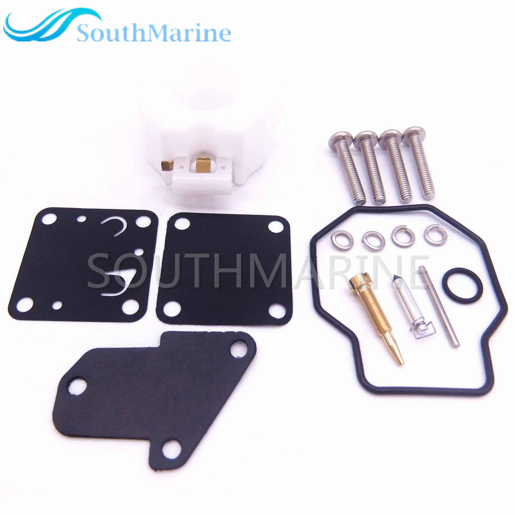 Boat Motor Carburetor Repair Kit 6E3-W0093 6E0-W0093 For Yamaha 4HP 5HP 4M 5M Outboard Engine