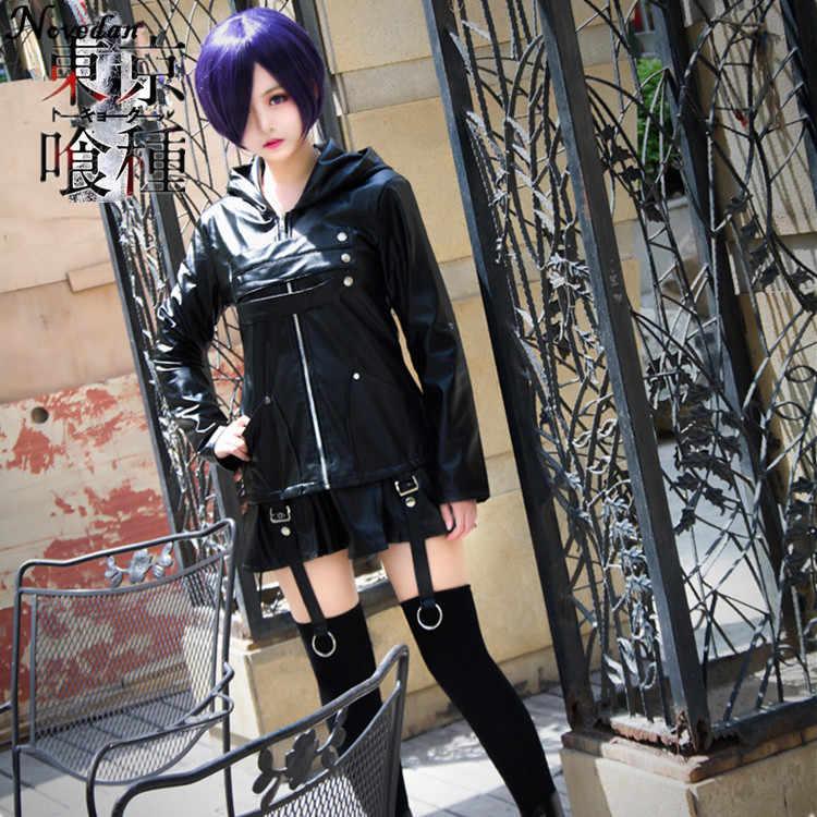 Tokyo Ghoul √A Touka Kirishima Dress Fighting uniforms cosplay costume