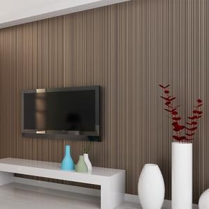 Image 5 - สีทึบStriped Non Woven Flockingวอลล์เปเปอร์สำหรับผนังม้วน3Dห้องนอนห้องนั่งเล่นผนังคลาสสิกกระดาษHome Decorโมเดิร์น10M