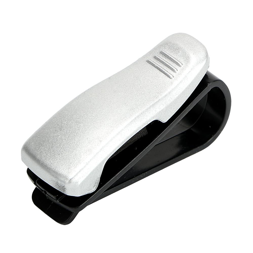 HTB1KSl9SpXXXXaZXpXXq6xXFXXXN - Eyeglasses Clip Car Sun Visor Sunglasses Holder Car Glasses Cases Fastener Cip Portable Ticket Card Clamp Car Styling ABS