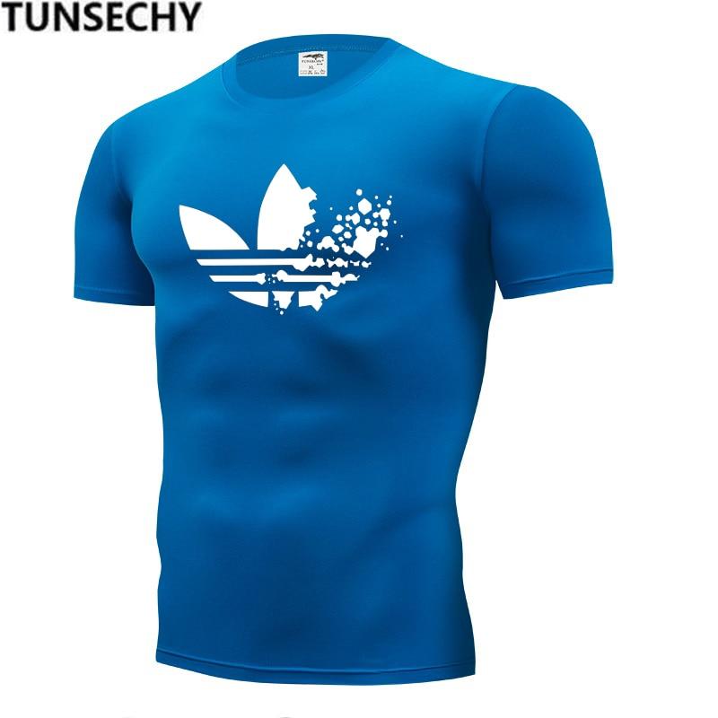 Mens T-shirt Short Sleeve 2019 Summer Funny T Shirts Fashion brand Logo Print Red T shirt Men Tops Tees 22 Colors Men's T-shirt