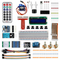 Raspberry Pi 3 Starter Kit Ultimate Learning Suite 1602 LCD SG90 Servo LED Relay Resistors