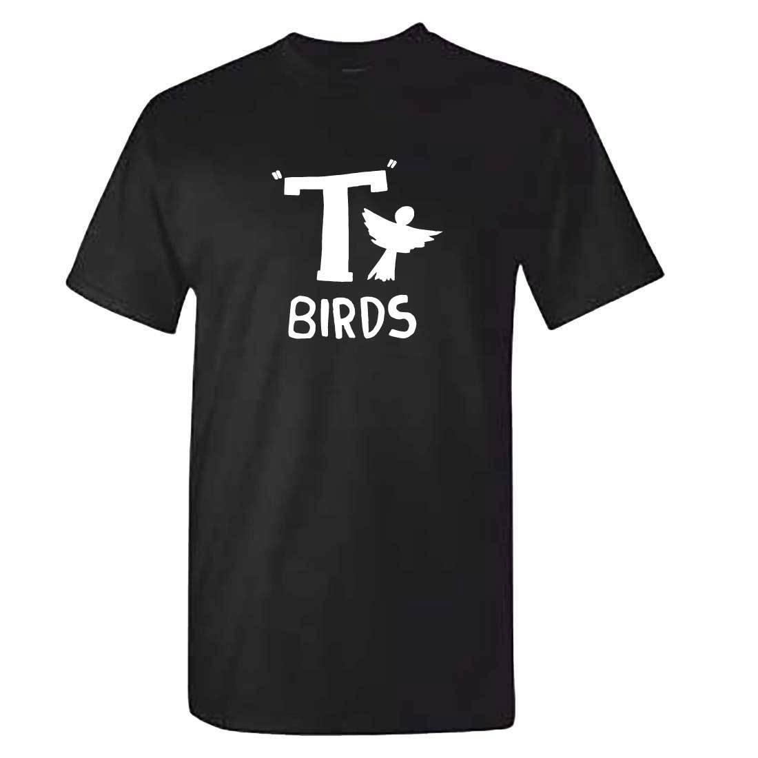 T Birds T Shirt - Mens Kids Childrens - T Birds T-shirt - Grease Fancy Dress for Male/Boy T Shirt Hot 2018 Fashion