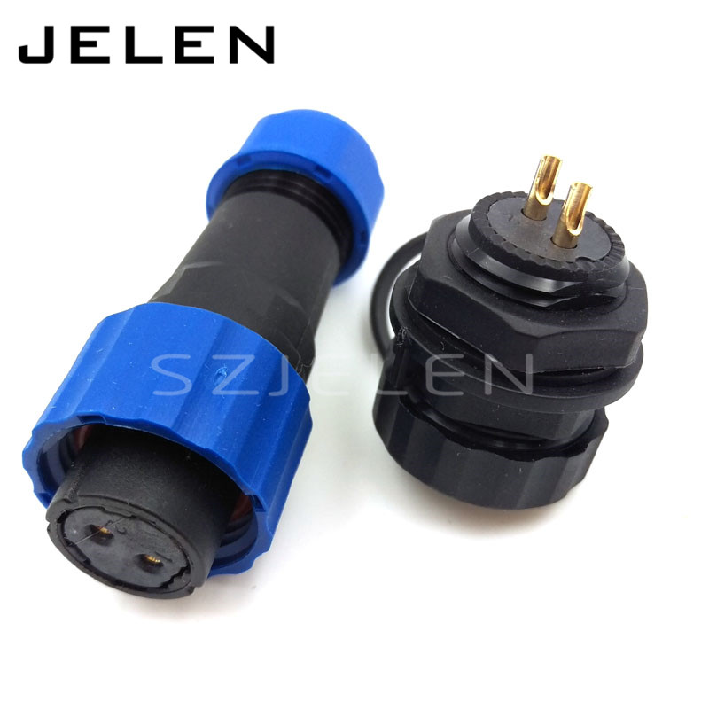 SD16 ,16mm Waterproof Connector 2 pin,  IP68, 2pin plug female and 2pin socket male, LED power connectors,automotive connectors 71626 1007 i o connectors lfh vt female 30au female 30au 16 mr li