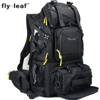 Camera Bag Double Shoulder Photo Bag Large Capacity Travel Men Women Camera Backpack For Laptop Camera