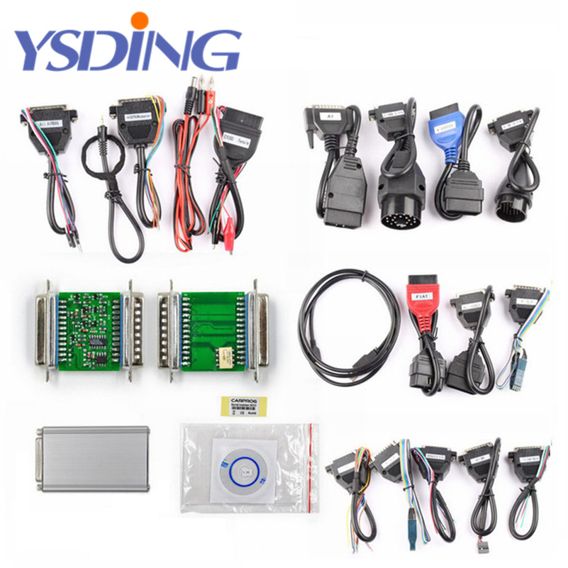 New Carprog V8.21 Online Version Auto Repair Tool Full Set Car prog Firmware 8.21 ECU Chip Tuning Tool Better Than Carprog V9.31 new version v2 13 ktag k tag firmware v6 070 ecu programming tool with unlimited token scanner for car diagnosis