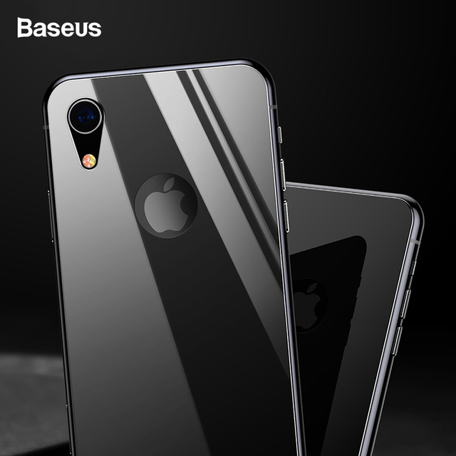 pretty nice 33a23 cbdff US $13.06 |Baseus 0.3mm Back Screen Protector For iPhone XR Tempered Glass  Full Curved Rear Protection Toughened Back Glass For iPhoneXr-in Phone ...
