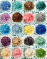Newborn Wool Blanket Photo Props Basket Filled Curly Wool Blanket Flokati