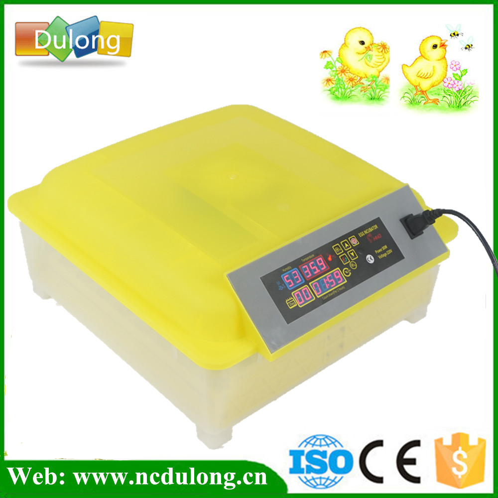 Fully Automatic 220V 48 Mini Poultry Egg Incubator Machine With CE Approved eu au ce approved 2015 hot sale jn10 mini egg incubator with high quality