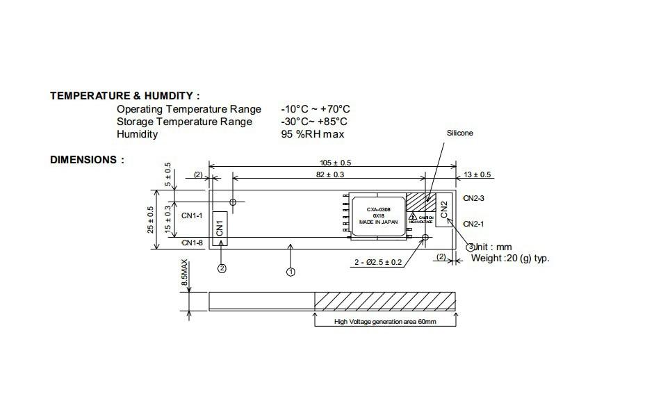 New LCD Inverter Kit For 104PW161 104PW161 C CXA 0308 PCU P113 12V