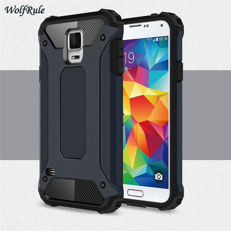 sFor ტელეფონი Case Samsung Galaxy S5 Cover Soft Silicon + პლასტიკური ყუთი Samsung Galaxy S5 Case for Funda Samsung S5 I9600 Coque <