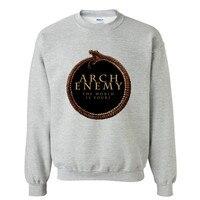 Pattern Brand Sweatshirts Arch Enemy Death Metal Men S Sweatshirt Men Brand Cotton Hoodies Autumn Hoody