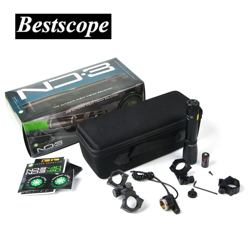 LASER GENETICS ND3 X30 ND30 Long Distance Green Laser Designator w/ Adjustable Scope Mount Hunting Scopes цена и фото