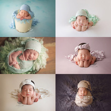 3 pcs/set baby photography prop Knitted lace hat +Wrapped in cloth+headband  newborn photo shooting prop 3pcs set bean bag photography blanke wrapped in cloth headwear infantile newborn baby photography prop