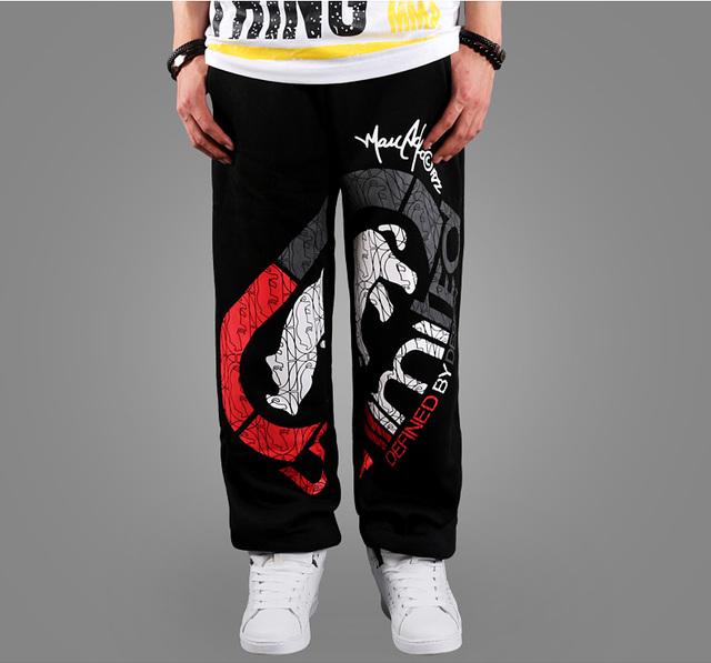 YG6072-12Cheap atacado 2016 new Outono calças soltas de hip hop da moda sportswear calças de dança de rua