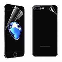 3D Curved Full Edge TPU Clear Protective Guard Front+Back Film for iphone X 8 7 Plus XR XS Max Screen Protector Cover(Not Glass)