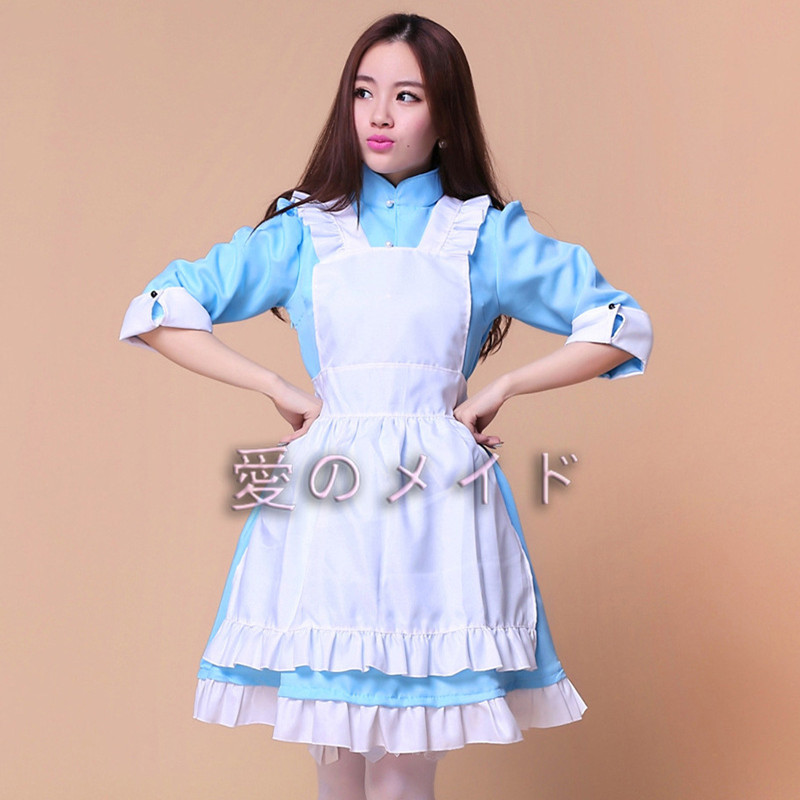 Halloween Japanese anime performance costume Cosplay Apparel Japanese Anime Maids Maid Wear Alice Clothing party dress