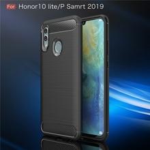 For Cover Huawei P Smart 2019 Case Soft Silicone Coque Phone Honor 10 Lite Fundas