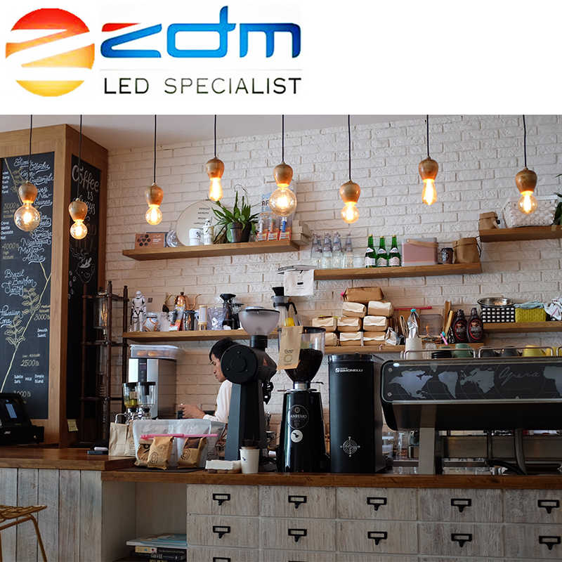 LED Candle Bulb Light E14 220V E27 LED Bulb Lamp Edison Light LED Filament Bulb E27 Glass Replace 20W 30W 40W 50W Incandescent