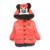 Nuevo 2015 cabritos del bebé de abrigo para los niños, los niños ropa de abrigo y abrigos, abrigo de invierno de las muchachas de Minnie, niños chaquetas, ropa de bebé ocasionales