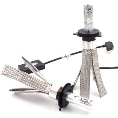 2 հատ լուսադիոդային լուսարձակներ CSP 40W - Ավտոմեքենայի լույսեր - Լուսանկար 1
