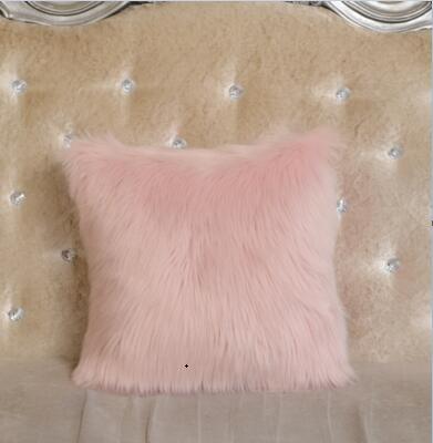 Toys & Hobbies 40*40cm 8 Colors Wool Mats Cushion Plush Pillows Woollen Cushions For Sofa Throw Pillow Car Home Decor Fur Pillow For Chair