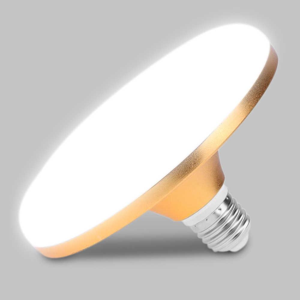 Donwei Energy Saving E27 Led Lamp 15w 18w 36w 50w Smd 2835 Flat High Power Led Bulb 220v E27 Ufo Led Ceiling Light Bulbs Led Bulbs Tubes Aliexpress