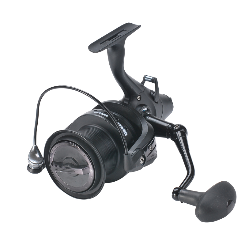 Lizard fish Beast 9000 12+1BB Carp Fishing Feeder Reel Long Surf Casting Metal Spool Reels Boat Left Right Sea Fishing Saltwater 12 1 bb ball bearing left right fishing spinning reels sea fish line reel