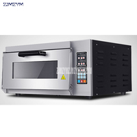 Electric Oven Commercially Baked Pizza Baked Single Layer Oven Egg Tart Bread Oven Computer Controlled 110V/220V|Ovens| |  -