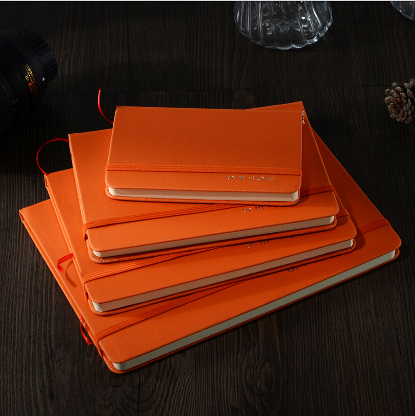 New Fashion School Supplies High Quality Business Stationery Notebook Stitching Binding Copybook Bandage Hardcover Stationery