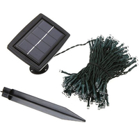 Brand New Waterproof 200 LEDs Solar String Light for tmas Wedding Party Garden Tree Decor Fairy Decoration 8 Colors Optional (Co