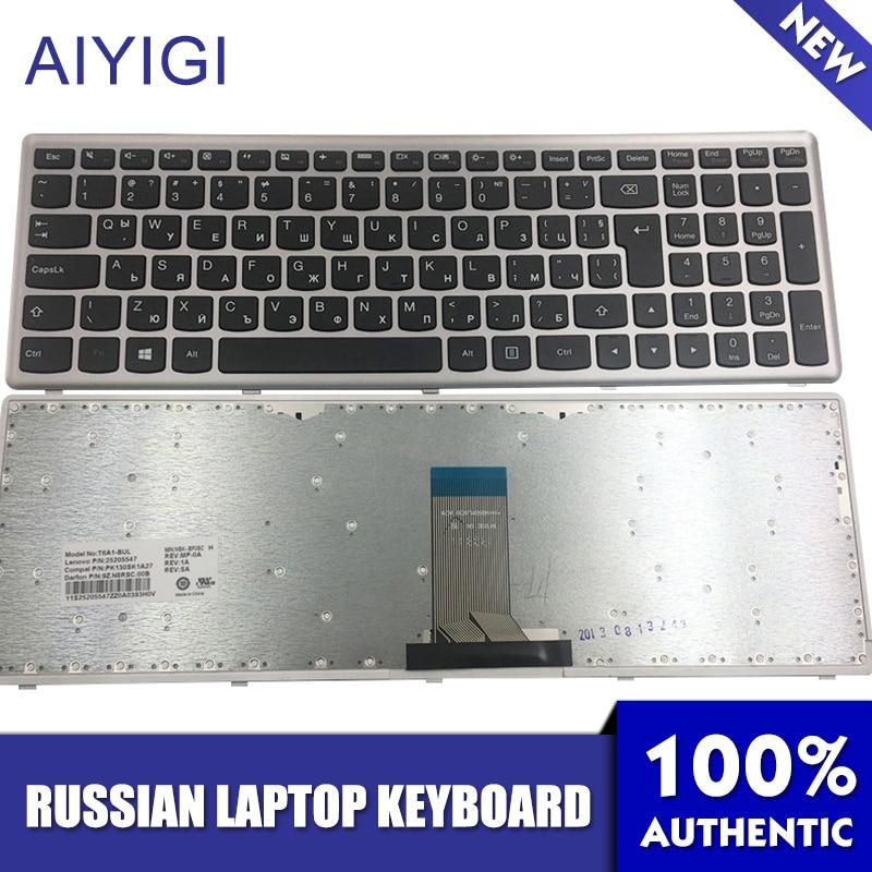 AIYIGI Nouveau Clavier Russe pour Lenovo IdeaPad Z710 U510 U510-IFI T6A1-BUL BG 100% Marque Nouvel Ordinateur Portable Clavier Russe