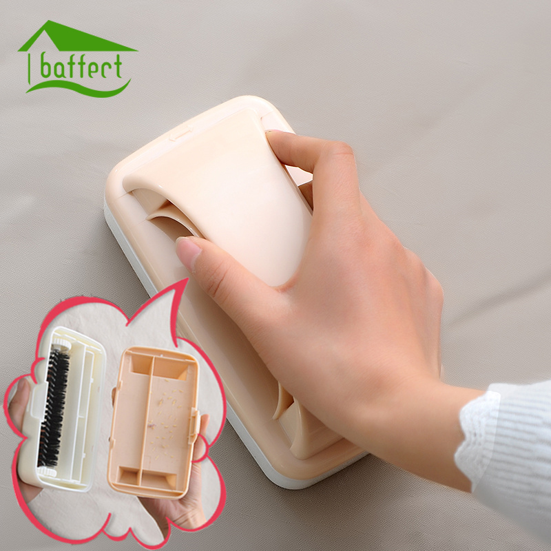 Colorful Plastic Brush Remover Sweeper Static Brush Electrostatic Static Clothing Lint Dust Pets Hair Cleaner Cleaning Tools