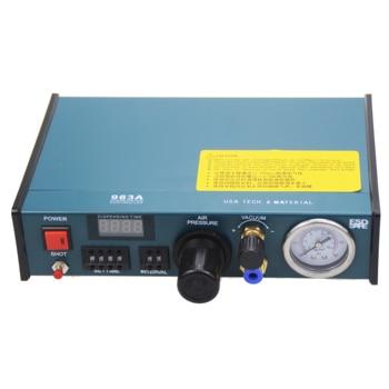 Free shipping VBP-983A Professional Precise Digital Auto Glue Dispenser Solder Paste Liquid Controller Dropper 220V цена 2017