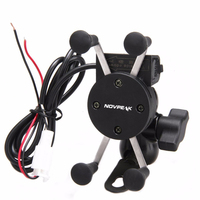 2 In 1 360 Degrees Rotation Motorcycle 3 5 6 Inch Cell Phone GPS Phone Mount