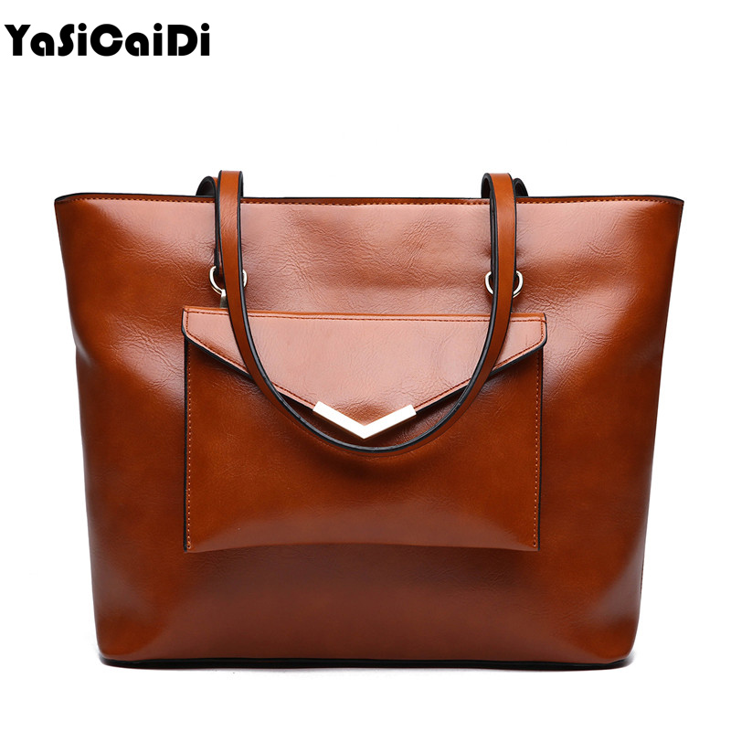 YASICADIDI 2PC/Set Fashion PU Leather Women Handbag High Quality Shoulder Bags For Women Luxury Large Capacity Bag Female Tote 2pcs lot baby girl hair bow flower children accessory baby barrettes hair accessories kids hairpins boutique hair clips headwear
