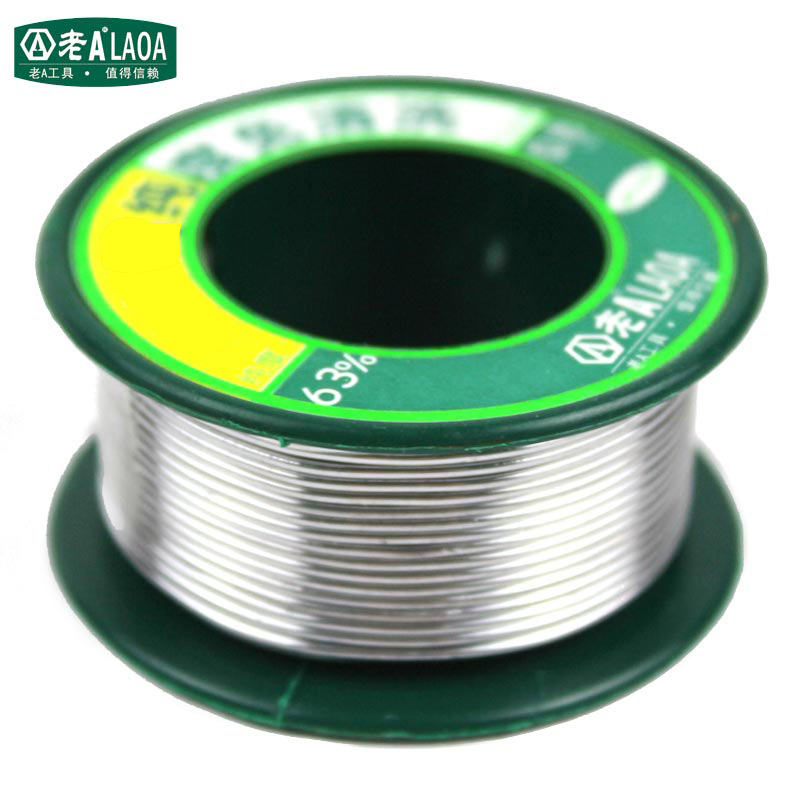 LAOA No-clean 0.8mm Tin Wire Circuit Board Precision Electronic Welding Total Weight 55g Tin Proportion 63%
